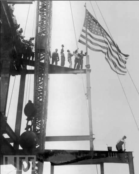 Iron Workers building the Empire State Building