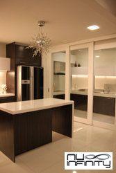 D Sliding Gl Door To Separate Dry N Wet Kitchen Doors