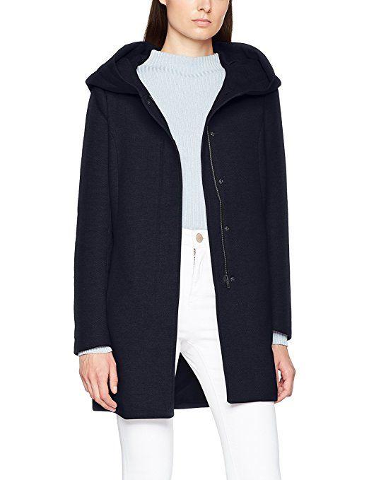 Woll Mix Lässigerkurzer Damen mit aus einem Mantel 9YWEDH2I