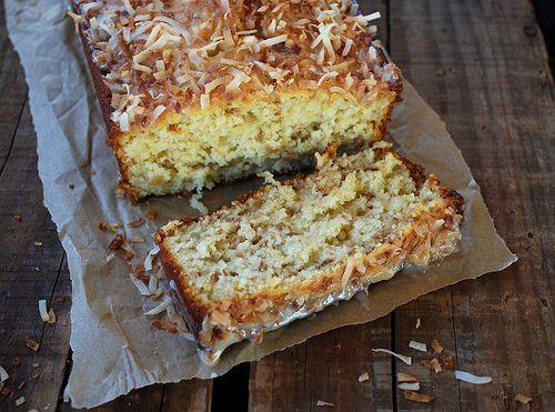 Toasted coconut pound cake recipe