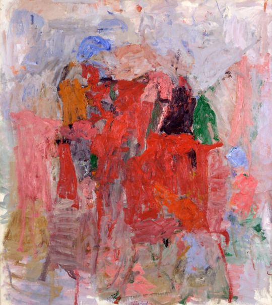 The Mirror by Phillip Guston,  1957