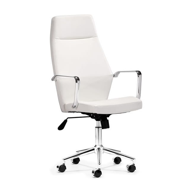 classic office chairs. Classic Office Chair - White | Dotandbo.com Chairs H