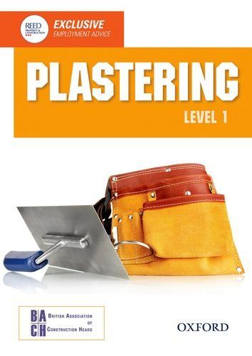 Plastering Level 1 Diploma Student Book Nvq Construction Amazon