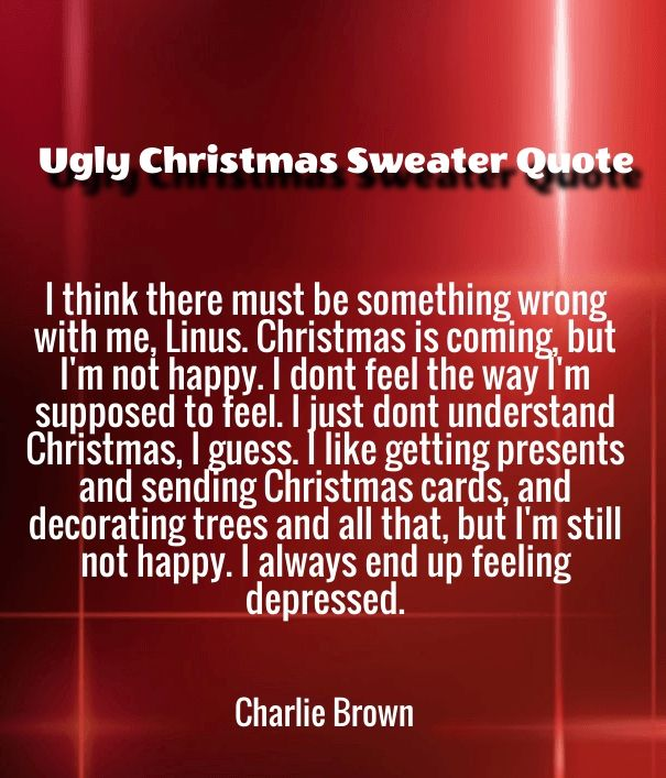 Ugly Christmas Sweater Quotes With Pictures 2017   Happy New Year 2018  Quotes Wishes Sayings Images