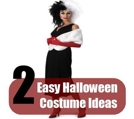 2 Easy Halloween Costume Ideas For Adults  sc 1 st  Pinterest & 2 Easy Halloween Costume Ideas For Adults | Celebration | Pinterest ...