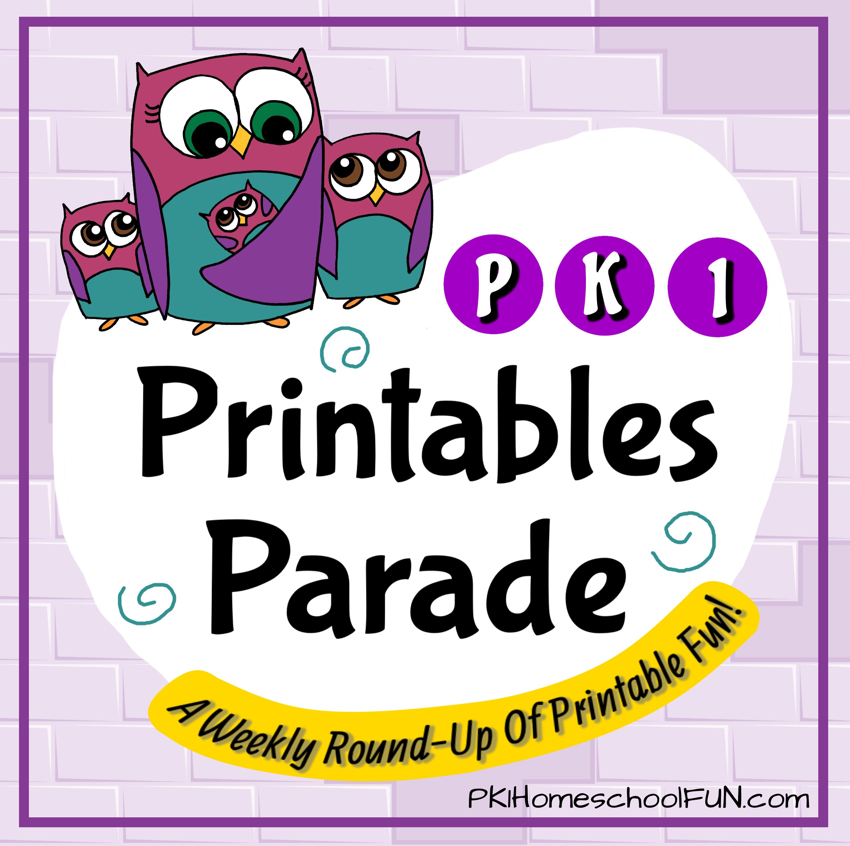 Free Printables Amp Ideas For Preschool Kindergarten Amp 1st