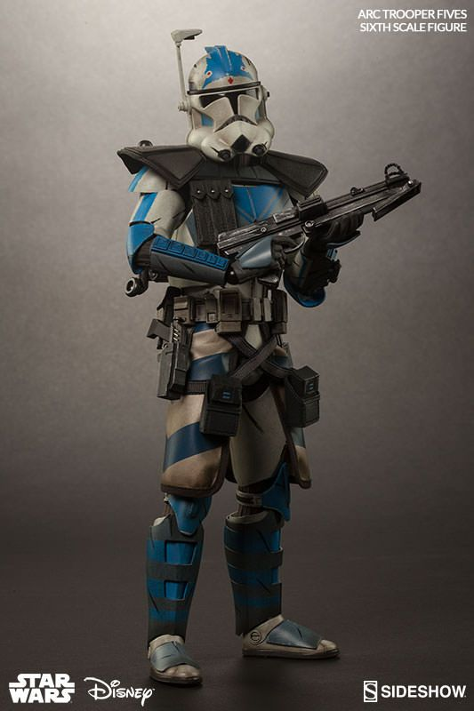 Sideshow Collectibles Arc Clone Trooper Fives Phase Ii Armor Action Figure Review Geektyrant Star Wars Characters Pictures Star Wars Images Star Wars Poster