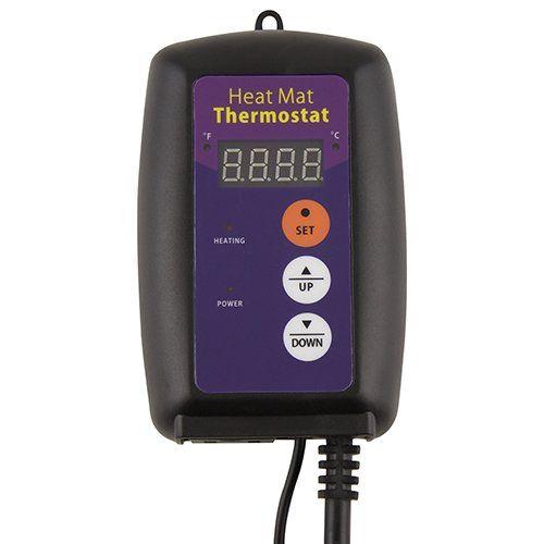 $ 20.00 Amazon.com : Apollo Horticulture 68-108°F Digital Heat Mat Thermostat Controller : Patio, Lawn & Garden