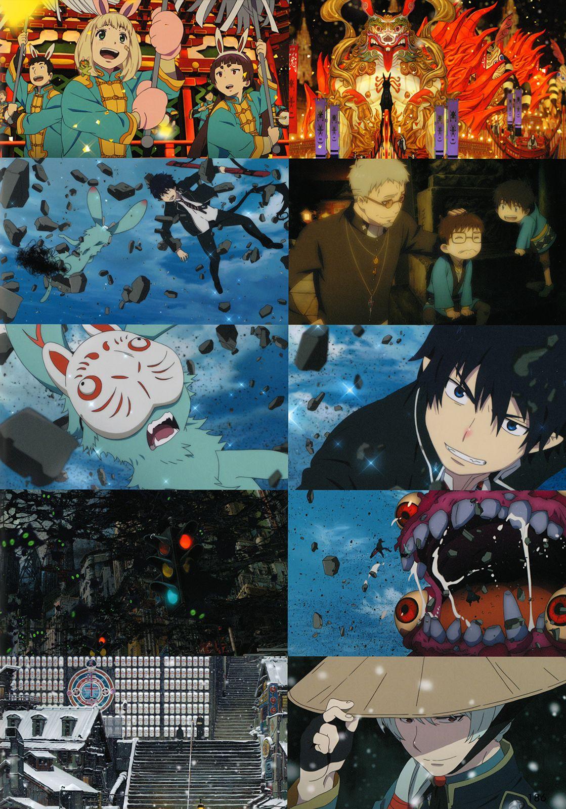 artbooksNAT Blue exorcist movie, Blue exorcist, Anime