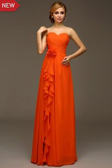 Chocolate Brown And Burnt Orange Ball Gown Google Search Ball