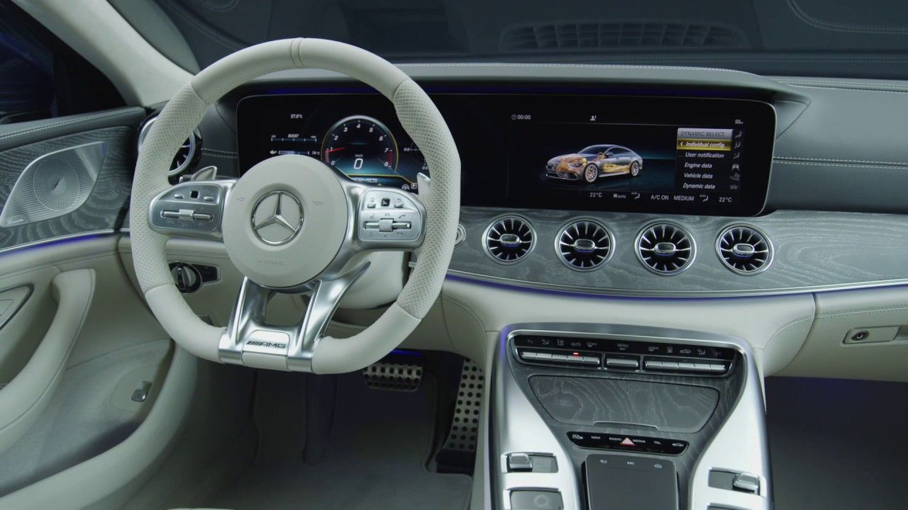2019 Mercedes Amg Gt 63 S Interior Design At The Studio With