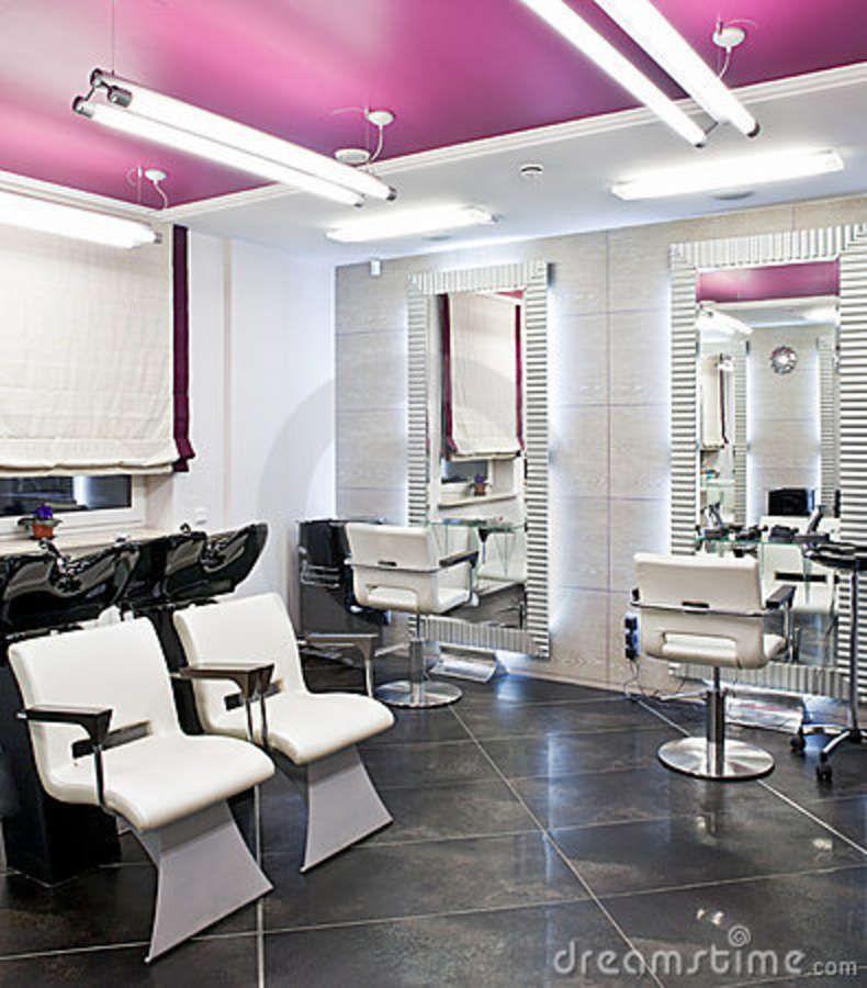 Beauty Salon Interior Stock Photo