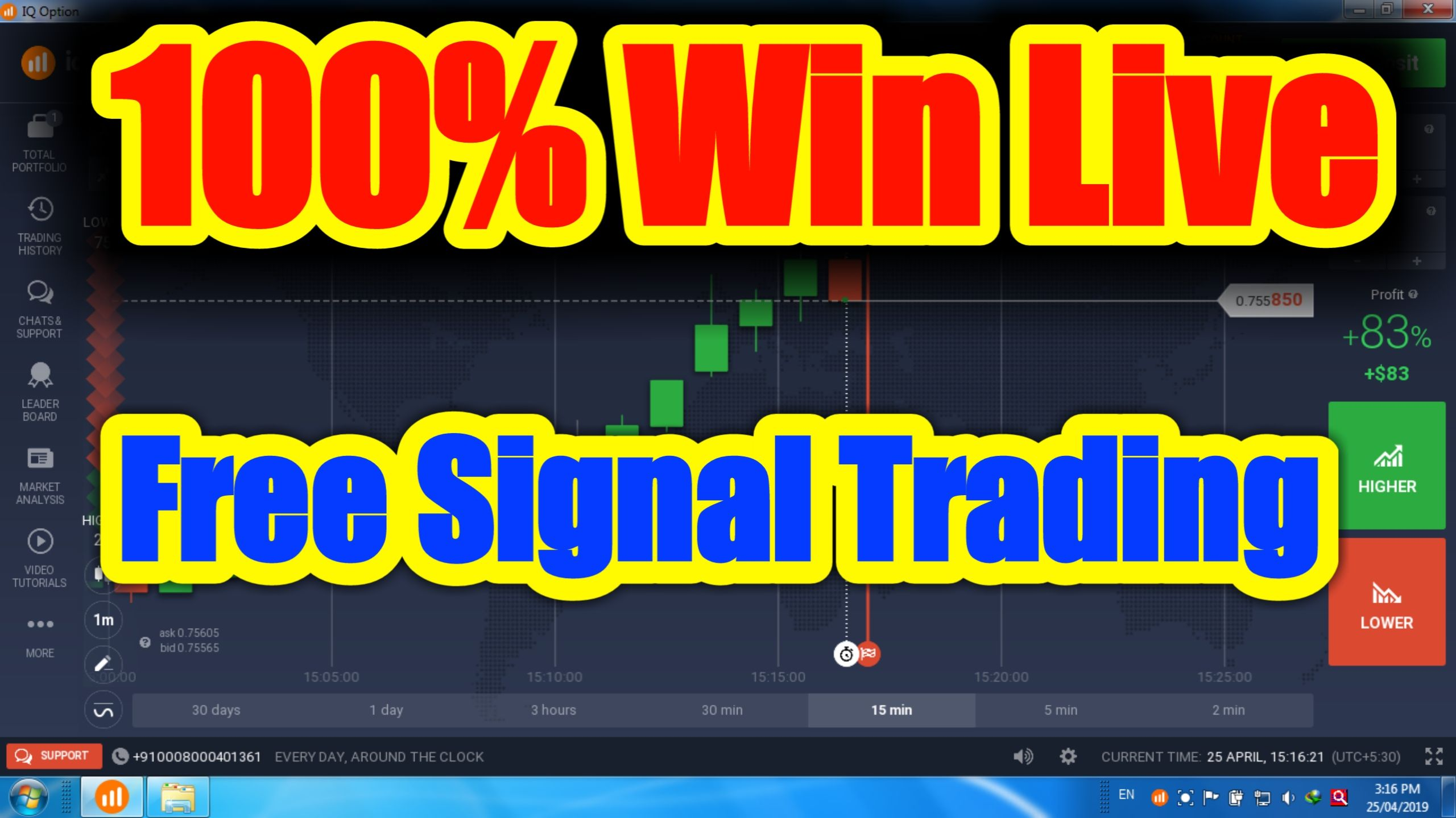 Abhigoldentrading Abhigolden Free Daily Signals Iq Option Trading