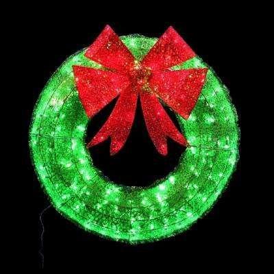 140 Multicolour LED Wreath Lights Xmas Lights Indoor Outdoor Christmas Decoratio