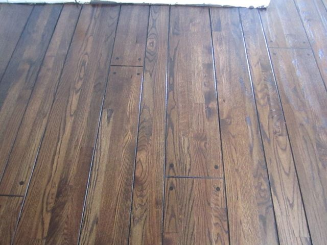 Peg Hardwood Flooring And Grooved