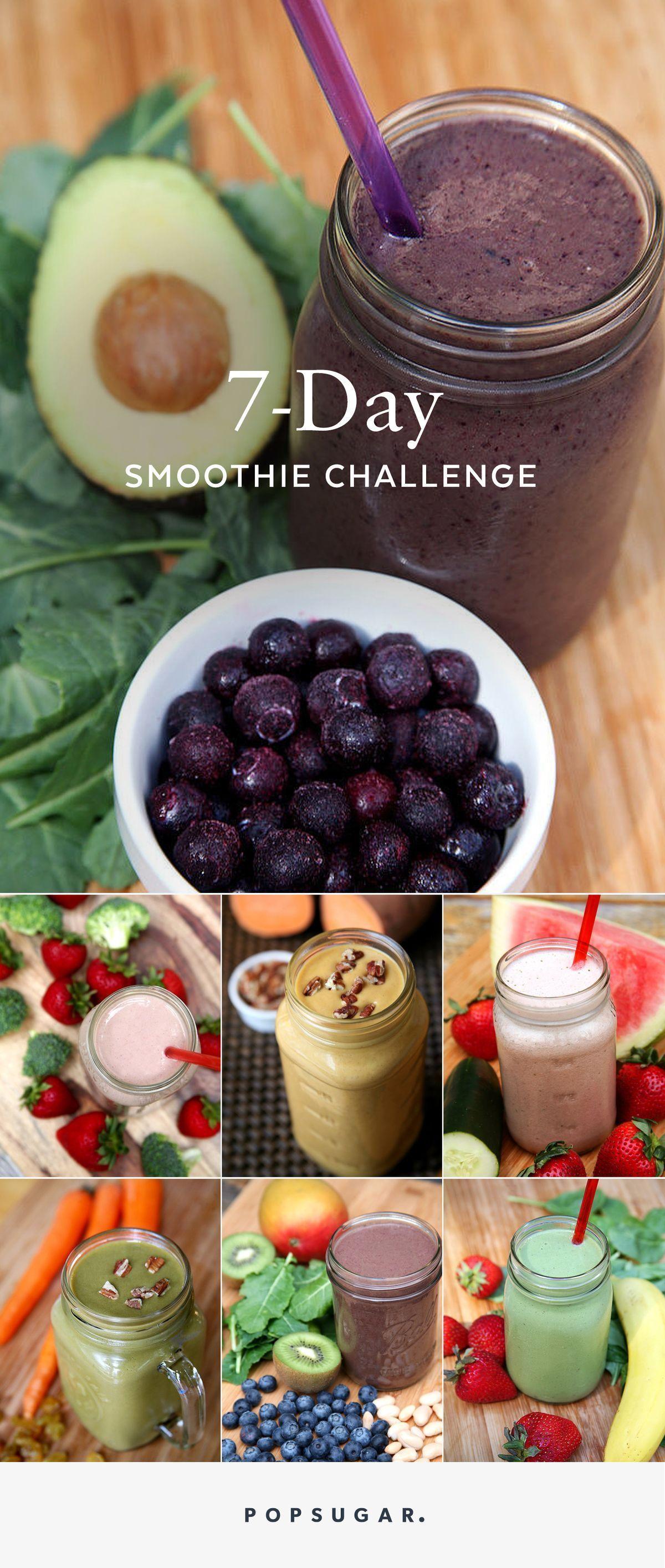 7-Day Breakfast Smoothie Challenge advise