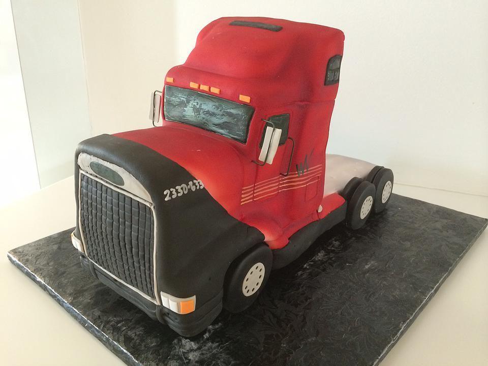 Semi Truck | Cake | Gallery | Sugar Divas Cakery | Orlando | Cupcakes | Custom Cakes  Www.sugardivascakery.com