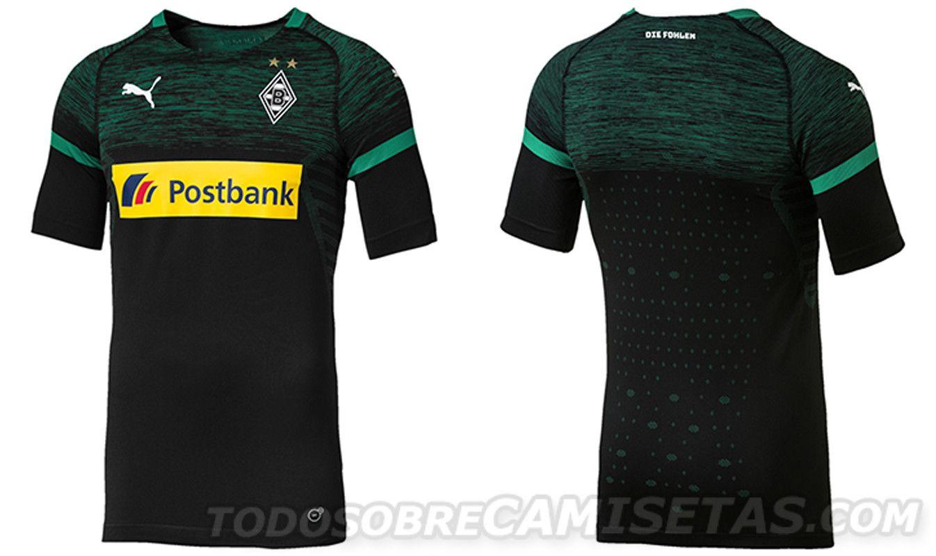 e9d281659a369 Bundesliga 2018-19 Kits - Borussia Monchengladbach away Camisas De Futebol