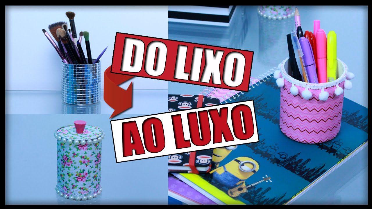 DIY: Do LIXO ao LUXO - 3 Ideias que você precisa Tentar ✂️️ #1