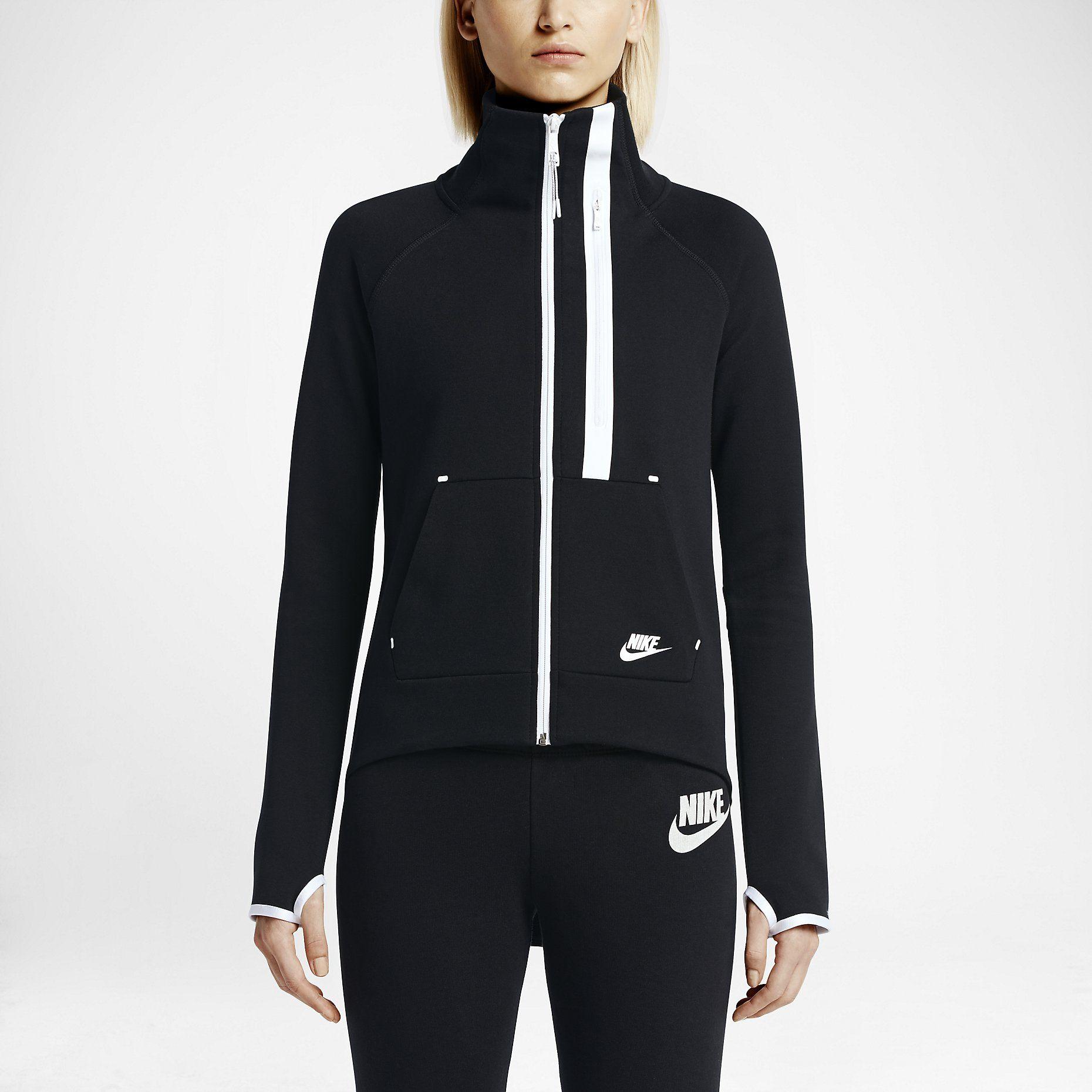 ea60f07d8882 Bluza damska Nike Tech Fleece Moto. Nike Store PL