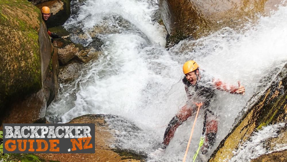 Best canyoning tours in NZ