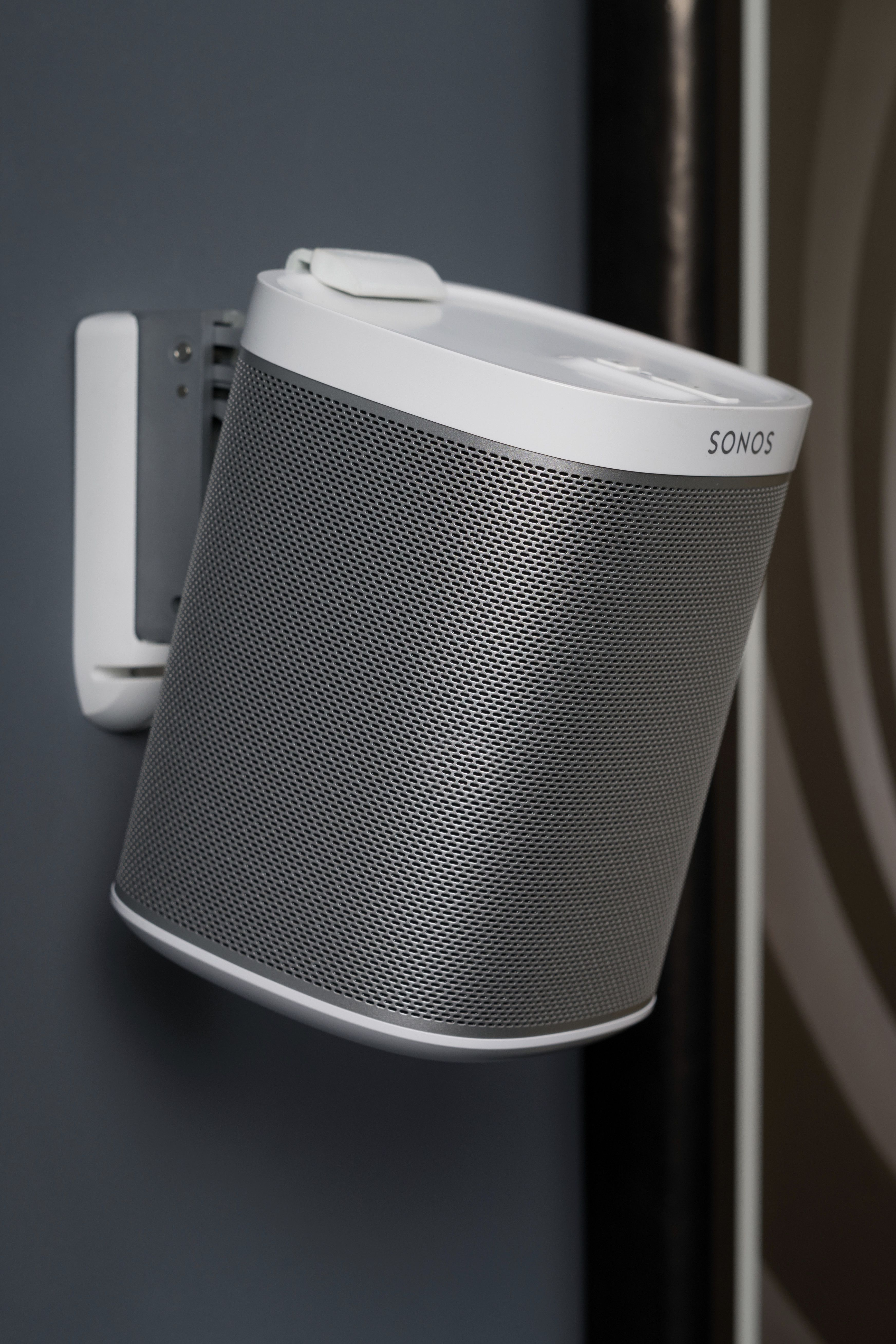 Wall Mount Your Sonos Play 1 Speaker With Our Premium Bespoke Bracket Looks Great In Any Home Its Neat And Stylish Design