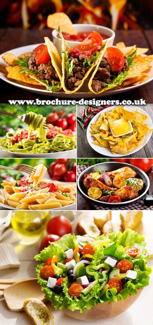 delicious healthy takeaway food images suitable for a takeaway - food brochure
