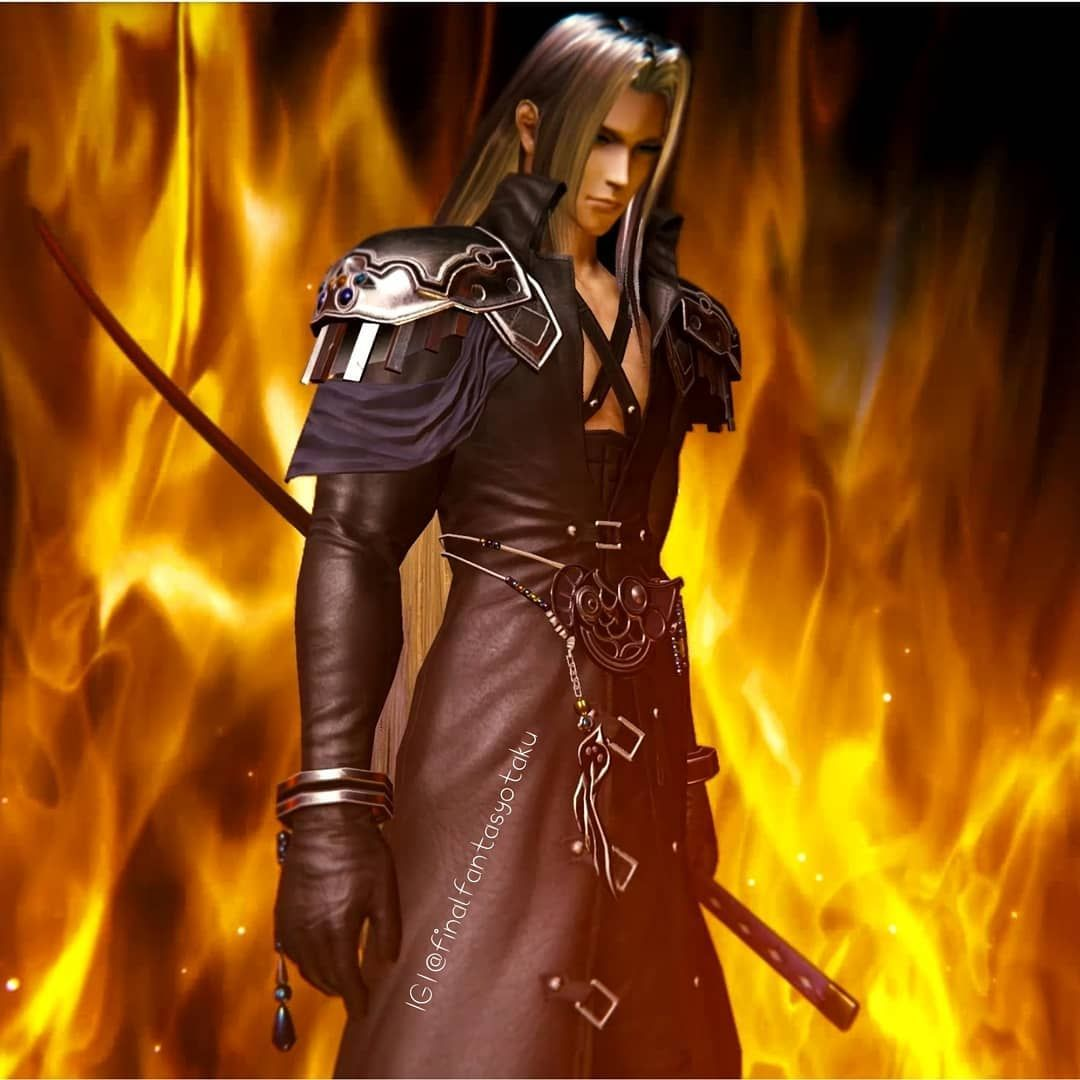 Sephiroth S Secret Bonus Scene After Beating The Ffvii Remake Event In Mobius Final Fantasy Swipe To Watch Scenebeware Instant Kill Gorgeous Bonusscen
