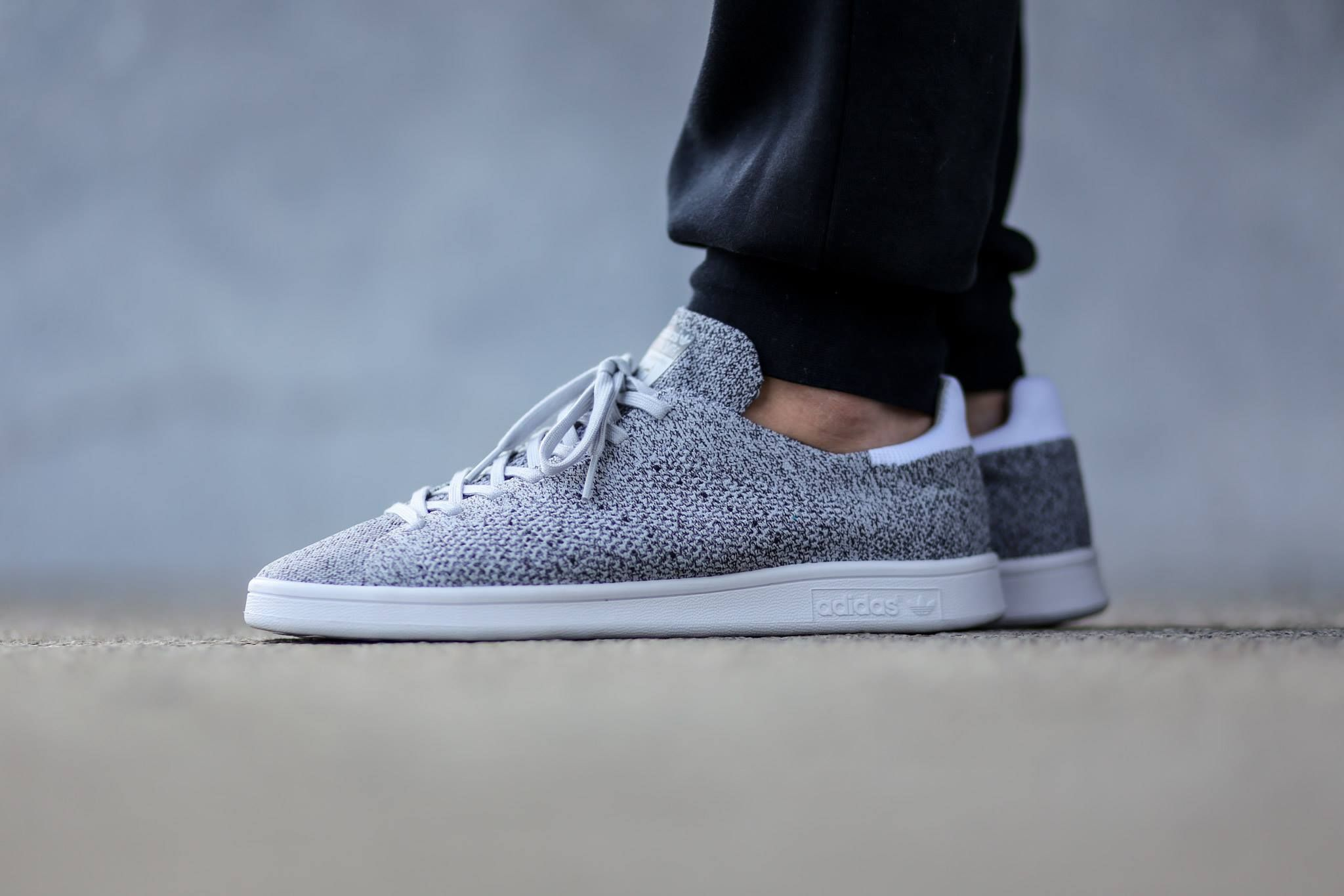 wholesale dealer afd26 7f493 Look at this latest Spring Summer 2K14 Primeknit version of the timeless  classic Stan Smith from Adidas. The pair boasts a lush primeknit upper  declined in