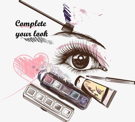 Decorative Eye Makeup Decoration Vector Make Up Png And Vector