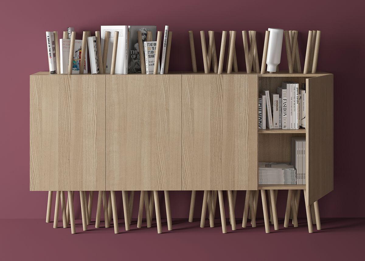 藝術感的 Urchin 書櫃 | MyDesy 淘靈感