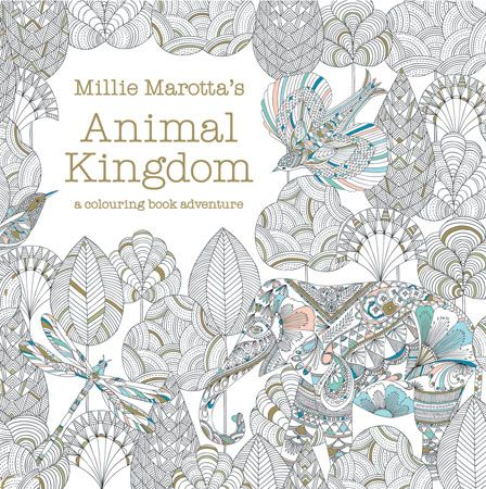 Today I Have A Really Fun Giveaway Enter To Win An Adult Coloring Book Called Animal Kingdom Color Me Draw By Millie Marotta Leaving Comment