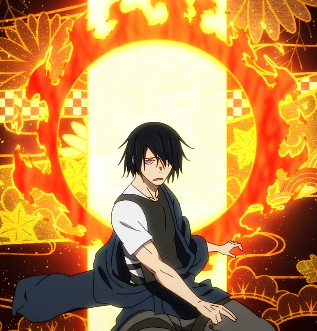 Benimaru Shinra Kusakabe Anime Wallpaper Character Art The perfect benimaru fireforce animated gif for your conversation. shinra kusakabe anime wallpaper