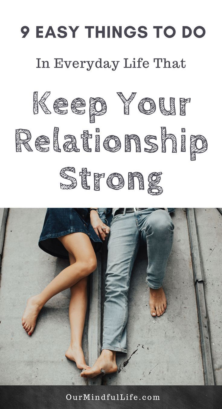 Things to do to rekindle a relationship
