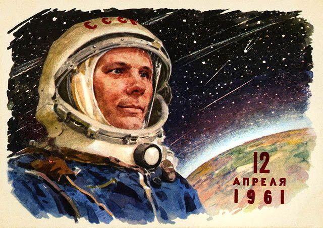 Yuri Alekseyevich Gagarin - April 12 1961