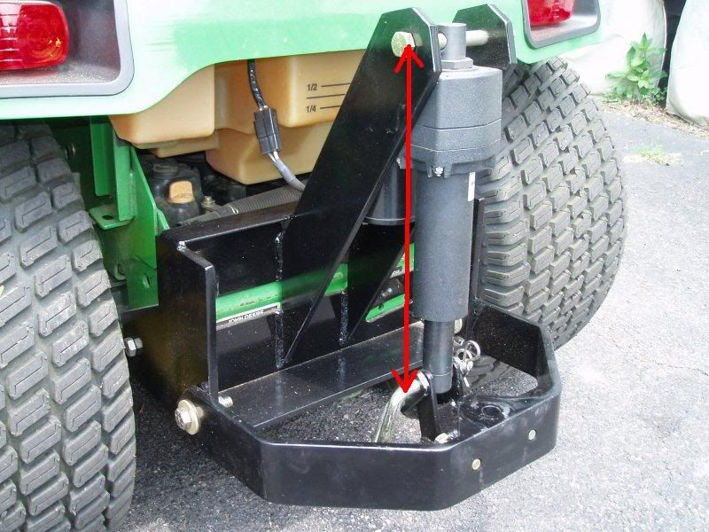 Linear Actuator Lawn Tractor : X sleeve hitch actuator mytractorforum the