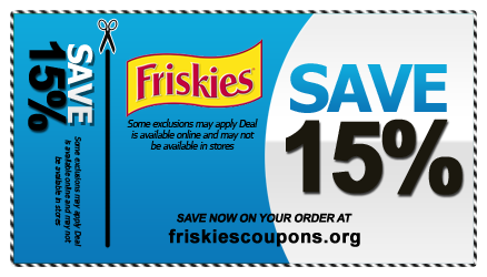 photo relating to Printable Cat Food Coupons identify Friskies Canned Food stuff Coupon codes Friskies Discount coupons in just 2019