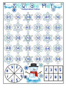 Winter Math Games And Centers Freebie Sampler Print And Play No