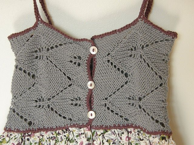 The vest Marica | Works for children's knitted | page 15