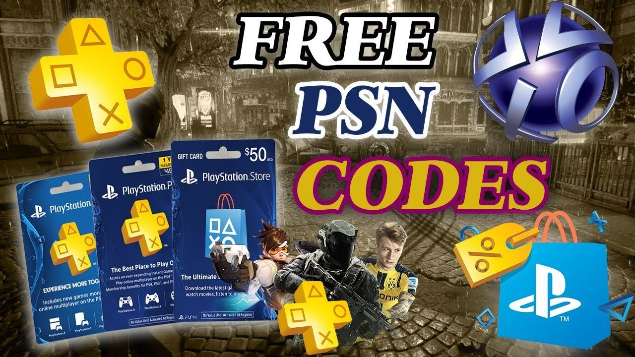 Free PSN Codes || Free ps4 games || ps4 gift card