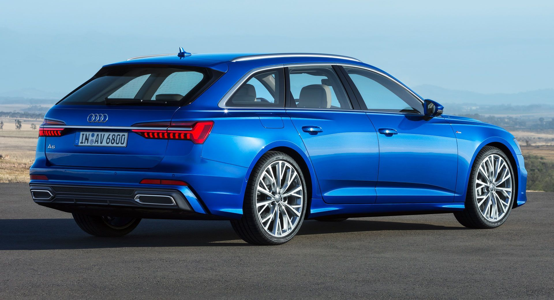 2019 Audi A6 Avant Is Here Looking More Handsome Than Ever Carscoops Audi A6 Avant Audi A6 Allroad Audi A6
