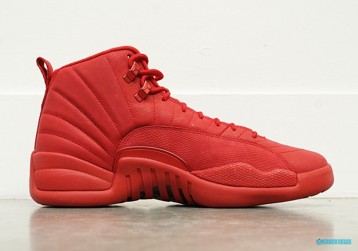 a6f09b06173 The Air Jordan 12 Arrives In A Full Gym Red Colorway For Black Friday