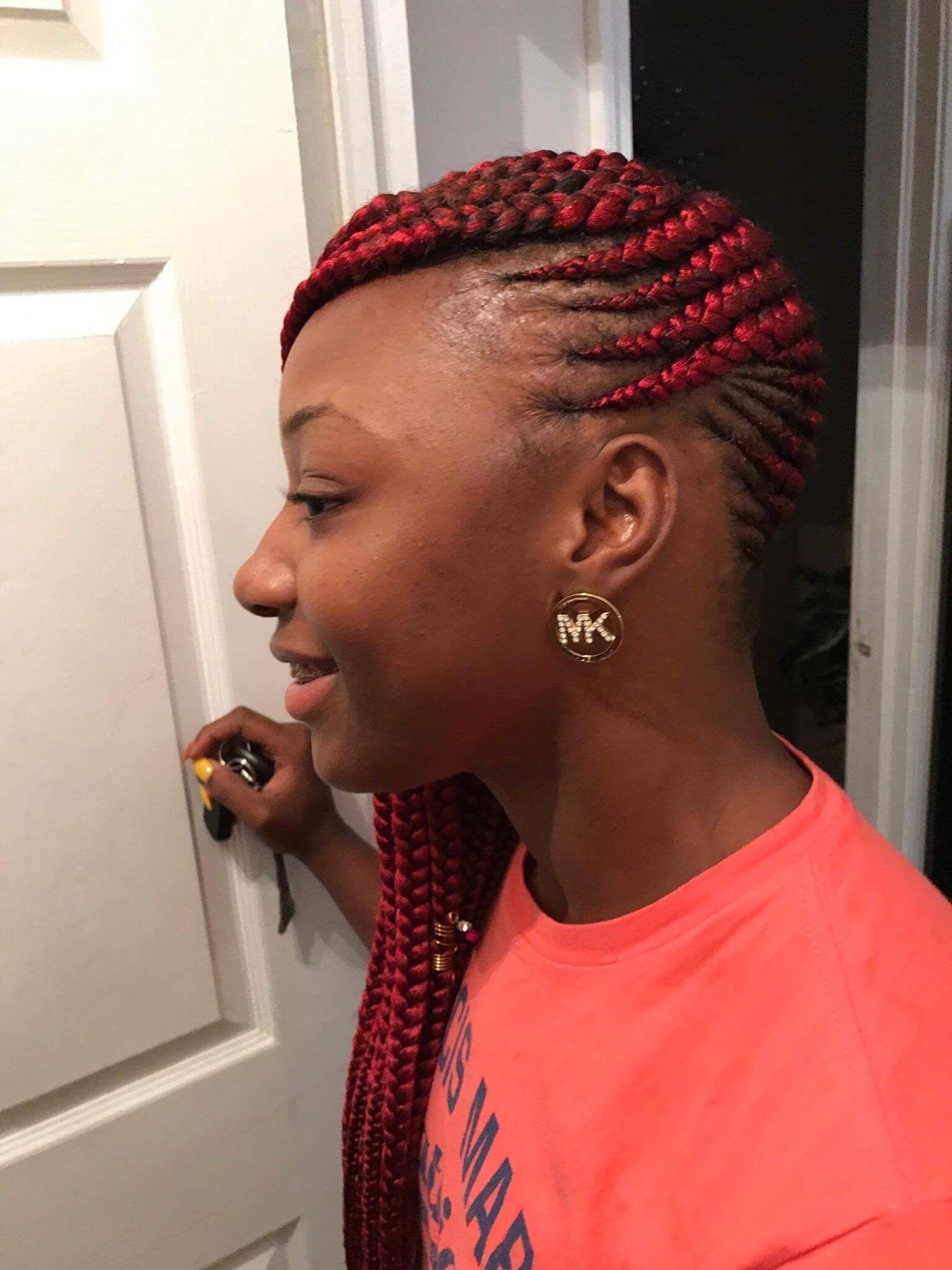 Lemonade Braids Hair Styles Natural Hair Styles Black