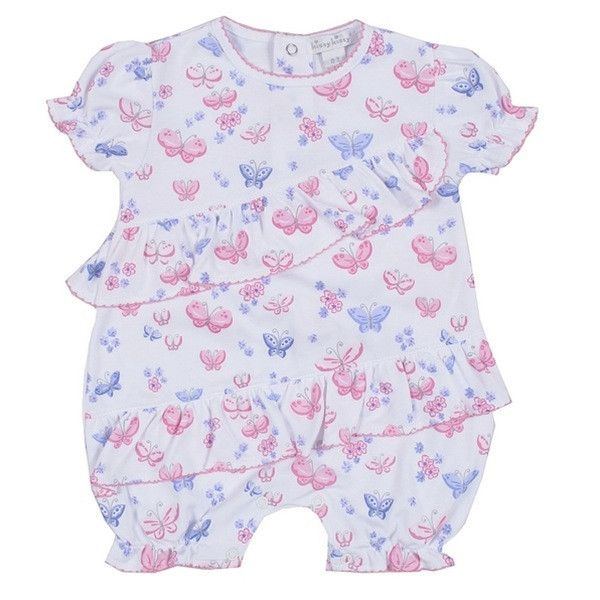Kissy Kissy Butterfly Dreams Playsuit - Baby Girl
