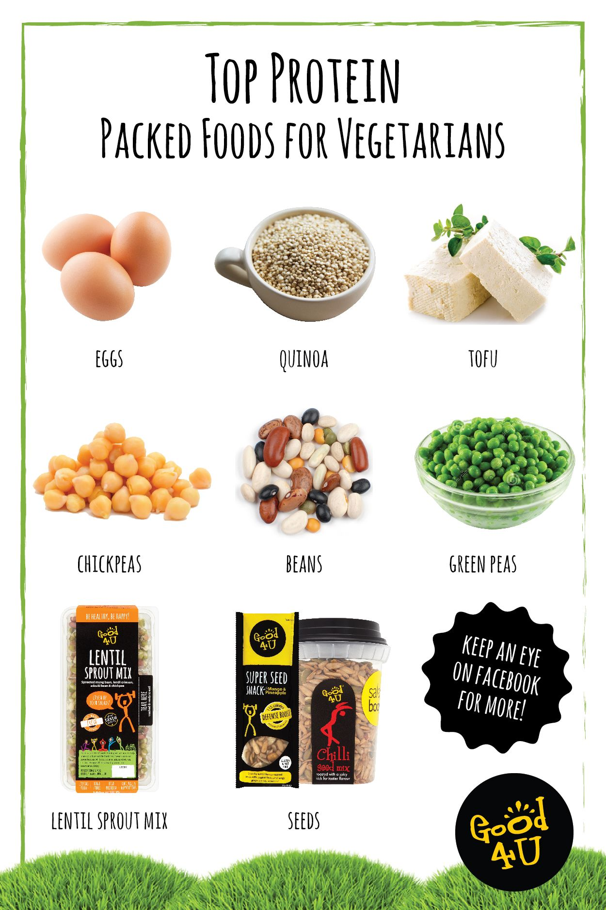 Top Protein Packed Foods for Vegetarians Source of