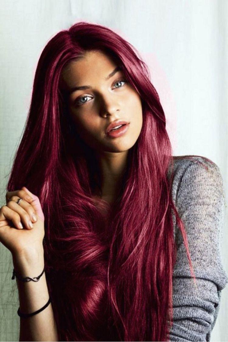 coloration cheveux rouge –les 10 meilleures idées, les plus belles