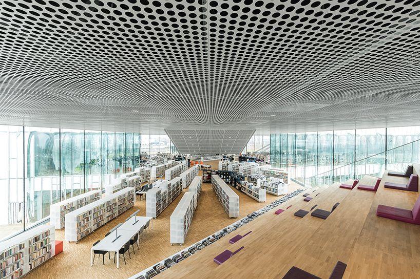 Lovely OMA Bibliotheque Alexis De Tocqueville Caen Library France