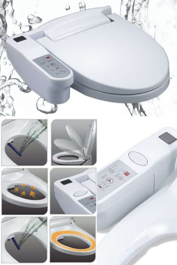 The Electronic Bidet Toilet Seat Sy 58a Combines The
