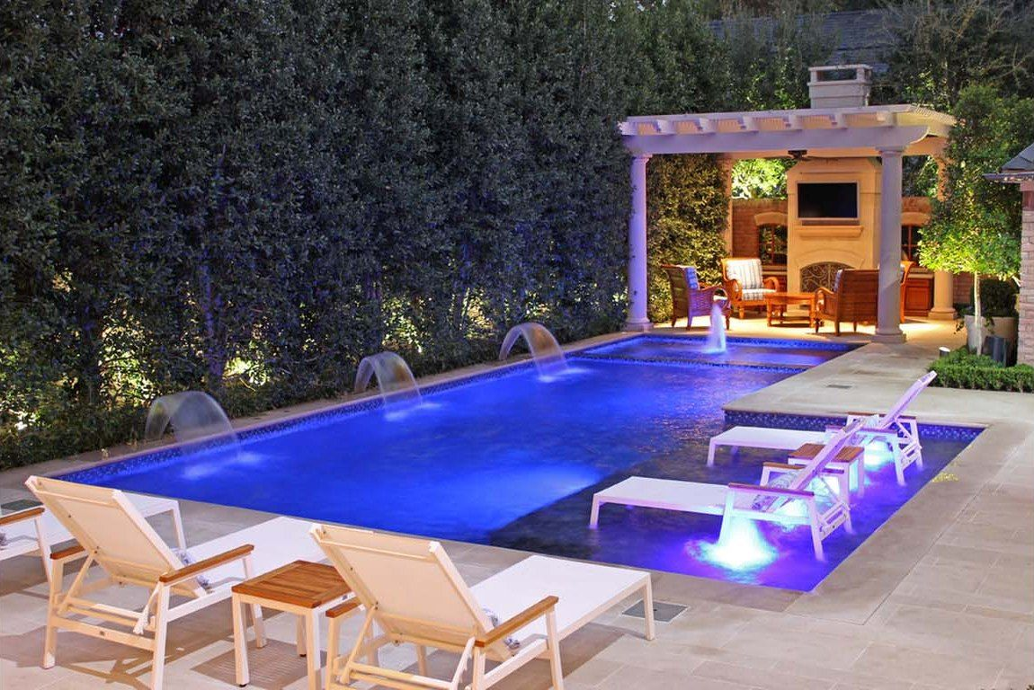 Backyard pool landscaping ideas florida pool ideas for Pool designs images