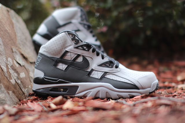 NIKE AIR TRAINER SC HIGH (WOLF GREY/ANTHRACITE) | Sneaker Freaker ...